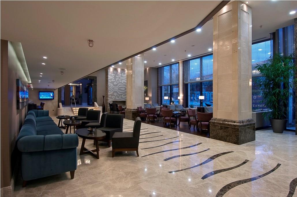Marigold Thermal Hotel Lobi