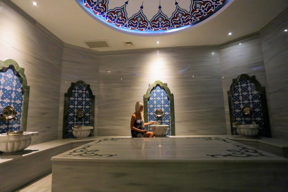 termal otellerde türk hamamı